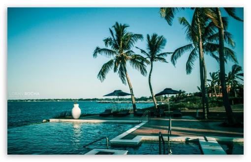 Download Pemba Beach Hotel HD Wallpaper