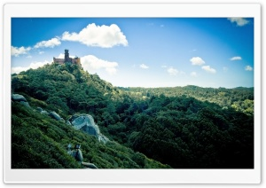 Pena National Palace Portugal HD Wide Wallpaper for Widescreen