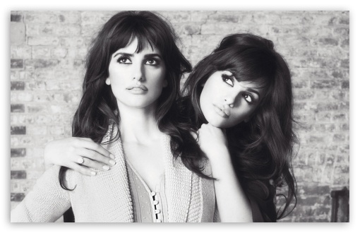 Penelope Cruz And Sister Black And White ❤ 4K UHD Wallpaper for Wide 16:10 5:3 Widescreen WHXGA WQXGA WUXGA WXGA WGA ; 4K UHD 16:9 Ultra High Definition 2160p 1440p 1080p 900p 720p ; Standard 4:3 5:4 3:2 Fullscreen UXGA XGA SVGA QSXGA SXGA DVGA HVGA HQVGA ( Apple PowerBook G4 iPhone 4 3G 3GS iPod Touch ) ; Tablet 1:1 ; iPad 1/2/Mini ; Mobile 4:3 5:3 3:2 16:9 5:4 - UXGA XGA SVGA WGA DVGA HVGA HQVGA ( Apple PowerBook G4 iPhone 4 3G 3GS iPod Touch ) 2160p 1440p 1080p 900p 720p QSXGA SXGA ;