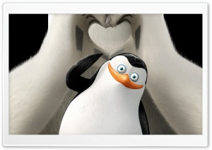 Penguins of Madagascar Private and Corporal HD Wide Wallpaper for Widescreen