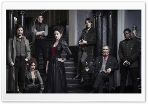 Penny Dreadful TV Series Cast HD Wide Wallpaper for 4K UHD Widescreen desktop & smartphone