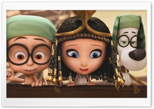 Penny, Sherman and Mister Peabody HD Wide Wallpaper for Widescreen