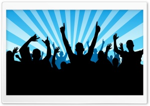 People Partying 5 HD Wide Wallpaper for Widescreen
