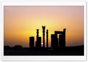 Persepolis Gate Of All Nations HD Wide Wallpaper for Widescreen