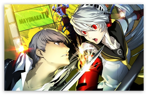 Persona 4 Arena P4A HD wallpaper for Wide 16:10 5:3 Widescreen WHXGA WQXGA WUXGA WXGA WGA ; HD 16:9 High Definition WQHD QWXGA 1080p 900p 720p QHD nHD ; Standard 4:3 Fullscreen UXGA XGA SVGA ; MS 3:2 DVGA HVGA HQVGA devices ( Apple PowerBook G4 iPhone 4 3G 3GS iPod Touch ) ; Mobile VGA WVGA iPhone iPad PSP - VGA QVGA Smartphone ( PocketPC GPS iPod Zune BlackBerry HTC Samsung LG Nokia Eten Asus ) WVGA WQVGA Smartphone ( HTC Samsung Sony Ericsson LG Vertu MIO ) HVGA Smartphone ( Apple iPhone iPod BlackBerry HTC Samsung Nokia ) Sony PSP Zune HD Zen ;