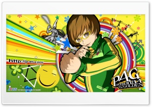 Persona 4 Chie HD Wide Wallpaper for Widescreen