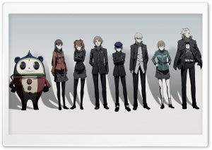 Persona 4 Parody HD Wide Wallpaper for Widescreen