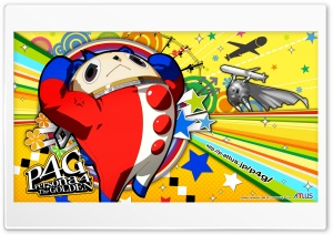 Persona 4 Teddie Bear HD Wide Wallpaper for 4K UHD Widescreen desktop & smartphone
