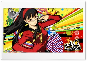 Persona 4 Yukiko HD Wide Wallpaper for 4K UHD Widescreen desktop & smartphone
