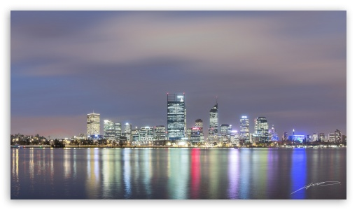 Perth by Night Panorama ❤ 4K UHD Wallpaper for 4K UHD 16:9 Ultra High Definition 2160p 1440p 1080p 900p 720p ; Dual 16:10 5:3 16:9 4:3 5:4 WHXGA WQXGA WUXGA WXGA WGA 2160p 1440p 1080p 900p 720p UXGA XGA SVGA QSXGA SXGA ;