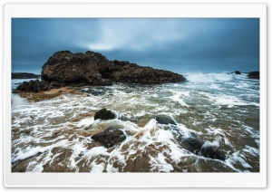 Pescadero State Beach HD Wide Wallpaper for Widescreen