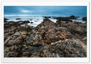 Pescadero State Beach, California HD Wide Wallpaper for Widescreen