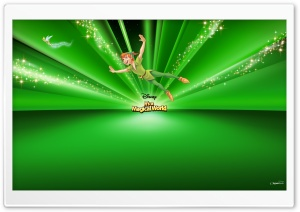 Peter Pan Disney HD Wide Wallpaper for Widescreen