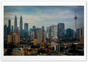 PETRONAS TOWERS - KL, MALAYSIA HD Wide Wallpaper for 4K UHD Widescreen desktop & smartphone