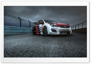 Peugeot 308 TCR 2018 Ultra HD Wallpaper for 4K UHD Widescreen desktop, tablet & smartphone