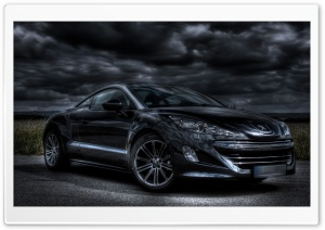 Peugeot HDR HD Wide Wallpaper for Widescreen