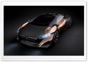 Peugeot Onyx Concept HD Wide Wallpaper for Widescreen