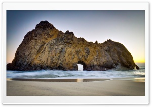 Pfeiffer Beach HD Wide Wallpaper for Widescreen