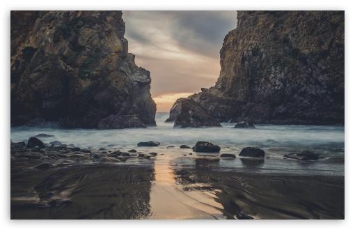 Download Pfeiffer Beach HD Wallpaper