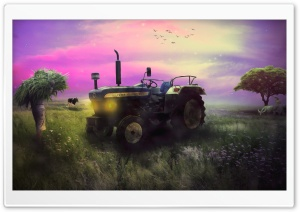 Phenomenal Farmer HD Wide Wallpaper for Widescreen