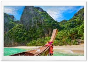 Phi Phi Islands, Asia HD Wide Wallpaper for Widescreen