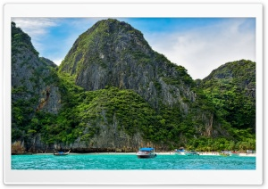 Phi Phi Islands, Thailand HD Wide Wallpaper for Widescreen