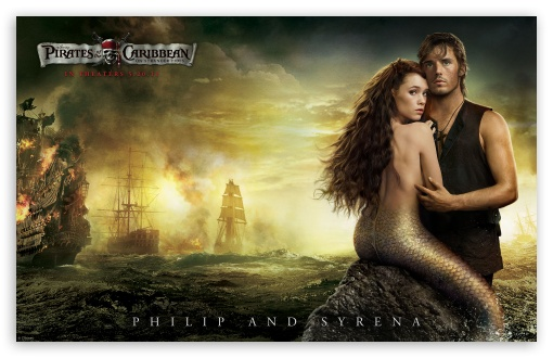 Philip And Syrena - 2011 Pirates Of The Caribbean On Stranger Tides HD wallpaper for Wide 16:10 5:3 Widescreen WHXGA WQXGA WUXGA WXGA WGA ; HD 16:9 High Definition WQHD QWXGA 1080p 900p 720p QHD nHD ; Standard 4:3 3:2 Fullscreen UXGA XGA SVGA DVGA HVGA HQVGA devices ( Apple PowerBook G4 iPhone 4 3G 3GS iPod Touch ) ; iPad 1/2/Mini ; Mobile 4:3 5:3 3:2 16:9 - UXGA XGA SVGA WGA DVGA HVGA HQVGA devices ( Apple PowerBook G4 iPhone 4 3G 3GS iPod Touch ) WQHD QWXGA 1080p 900p 720p QHD nHD ;