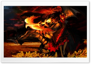 Phoenix Flame HD Wide Wallpaper for Widescreen
