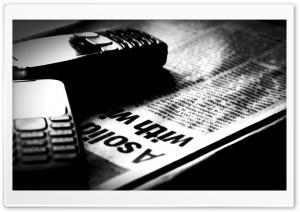Phones - Newspapers HD Wide Wallpaper for Widescreen