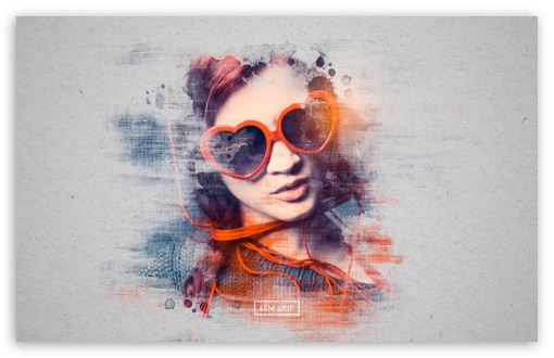 Download Photoshop Effect tutorial HD Wallpaper