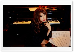 Pianist Ultra HD Wallpaper for 4K UHD Widescreen desktop, tablet & smartphone