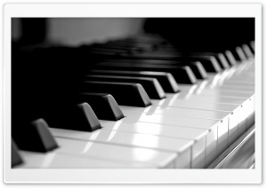 Piano Keyboard HD Wide Wallpaper for Widescreen