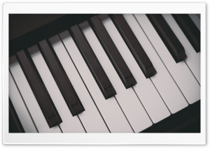 Piano Keyboards HD Wide Wallpaper for Widescreen
