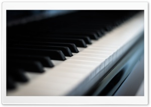Piano Keys HD Wide Wallpaper for Widescreen