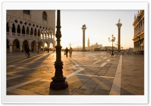 Piazza San Marco, Venice HD Wide Wallpaper for 4K UHD Widescreen desktop & smartphone