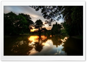 Picturesque Park HD Wide Wallpaper for Widescreen