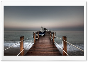 Pier HD Wide Wallpaper for 4K UHD Widescreen desktop & smartphone