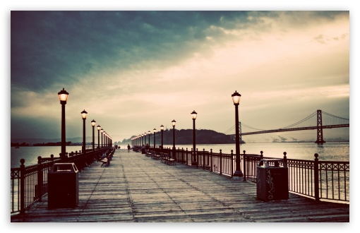 Pier Vintage Ultra Hd Desktop Background Wallpaper For 4k Uhd Tv Tablet Smartphone