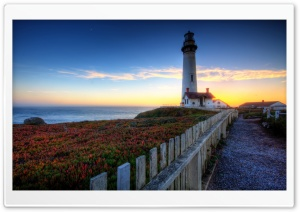 Pigeon Point Lighthouse HD Wide Wallpaper for 4K UHD Widescreen desktop & smartphone
