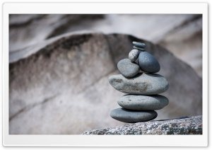 Pile Of Pebbles HD Wide Wallpaper for Widescreen