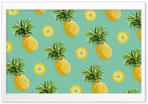 Pineapples HD Wide Wallpaper for Widescreen
