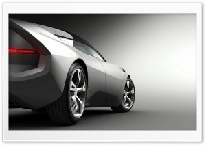 Pininfarina Sintesi Side View HD Wide Wallpaper for Widescreen
