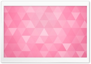 Pink Abstract Geometric Triangle Background HD Wide Wallpaper for 4K UHD Widescreen desktop & smartphone