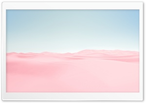 Pink Desert, Blue Sky Ultra HD Wallpaper for 4K UHD Widescreen desktop, tablet & smartphone