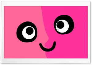 Pink Face HD Wide Wallpaper for Widescreen