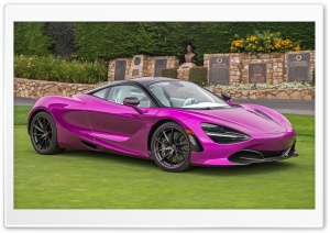 Pink Mclaren 720s 2017 HD Wide Wallpaper for 4K UHD Widescreen desktop & smartphone