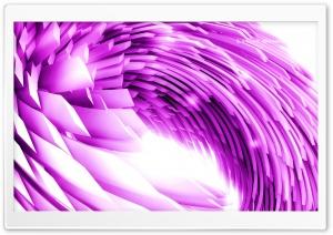 Pink Quantum Loop HD Wide Wallpaper for Widescreen