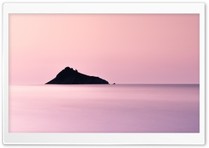Pink Sea Aesthetic Ultra HD Wallpaper for 4K UHD Widescreen desktop, tablet & smartphone