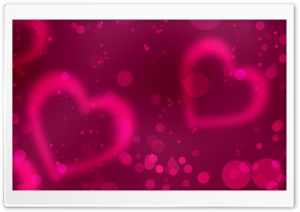 Pink Valentine's Day HD Wide Wallpaper for Widescreen