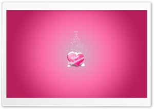 Pink Valentine's Day Ultra HD Wallpaper for 4K UHD Widescreen desktop, tablet & smartphone